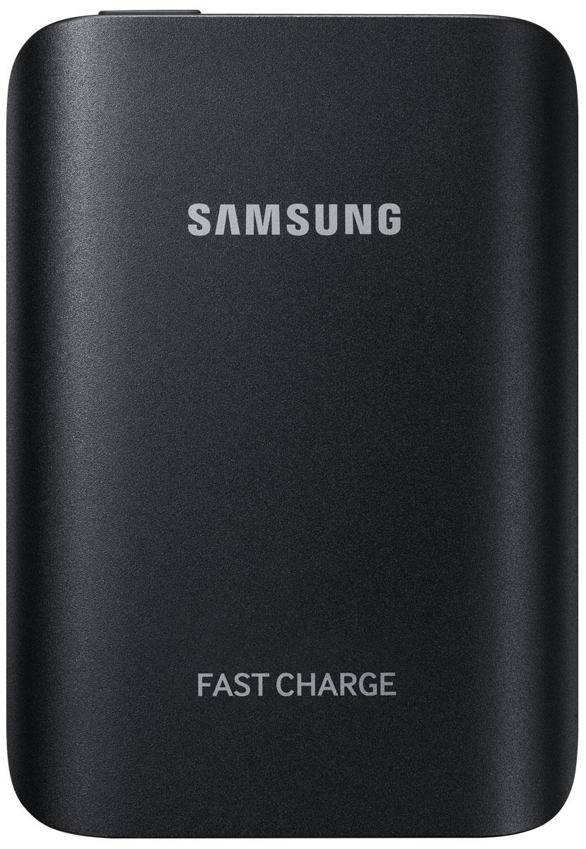 Samsung EB-PG930BBR, Black внешний аккумуляторEB-PG930BBRGRUВнешний аккумулятор Samsung EB-PG930B использует технологию полноценной быстрой зарядки, что означает, что он не только быстро заряжает совместимое мобильное устройство, но и сам заряжается очень быстро.Универсальный внешний аккумулятор совместим со смартфонами Samsung с поддержкой функции быстрой зарядки Adaptive Fast Charge, а также многими другими мобильными устройствами.От многих других этот внешний аккумулятор отличает стильный металлический корпус с закруглёнными краями, схожий с дизайном флагманских устройств Samsung.