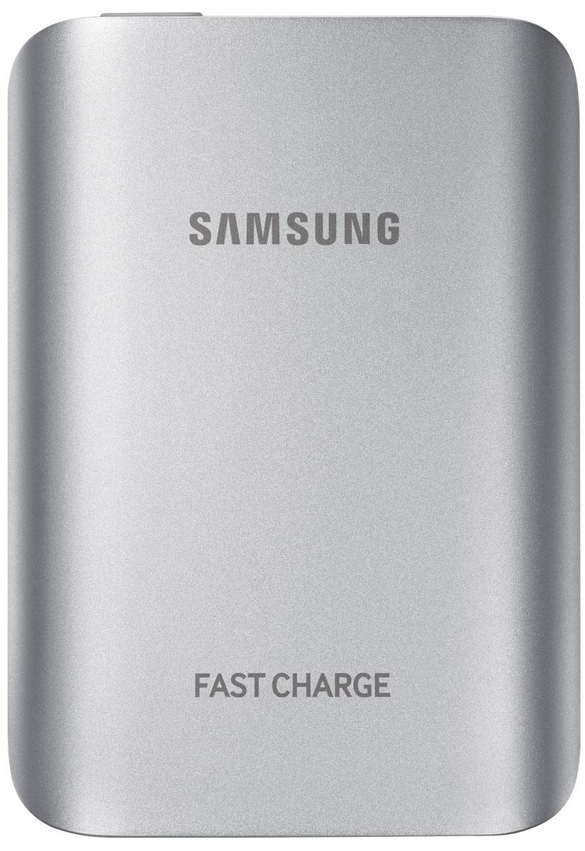 Samsung EB-PG930BSR, Silver внешний аккумуляторEB-PG930BSRGRUВнешний аккумулятор Samsung EB-PG930B использует технологию полноценной быстрой зарядки, что означает,что он не толькобыстро заряжает совместимое мобильное устройство, но и сам заряжается очень быстро.Универсальный внешний аккумулятор совместим со смартфонами Samsung с поддержкой функции быстройзарядки Adaptive Fast Charge, а также многими другими мобильными устройствами.От многих других этот внешний аккумулятор отличает стильный металлический корпус с закруглёнными краями,схожий с дизайном флагманских устройств Samsung.
