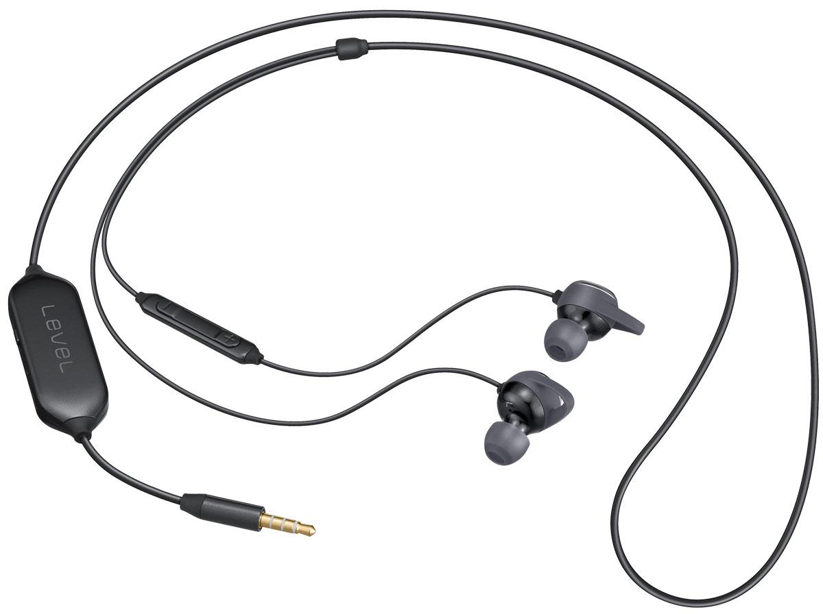 Samsung EO-IG930BBE Level In ANC, Black проводные внутриканальные наушникиEO-IG930BBEGRUПогрузитесь в глубокий и чистый звук. Гарнитура Samsung Level In ANC значительно уменьшает уровень окружающего шума (до -20 дБ), чтобы вы смогли остаться наедине с любимой музыкой.Режим Talk-in позволит вам оставаться погруженным в музыку высочайшего качества, сохраняя возможность слышать звуки вокруг, обеспечивая необходимый уровень безопасности.Музыка, которая выглядит так же хорошо, как и звучит. Гарнитура оснащена динамиками канального типа и зауженным трёхкнопочным пультом управления, кроме того обрамлена в металлизированный корпус, который придаёт ей элегантности.