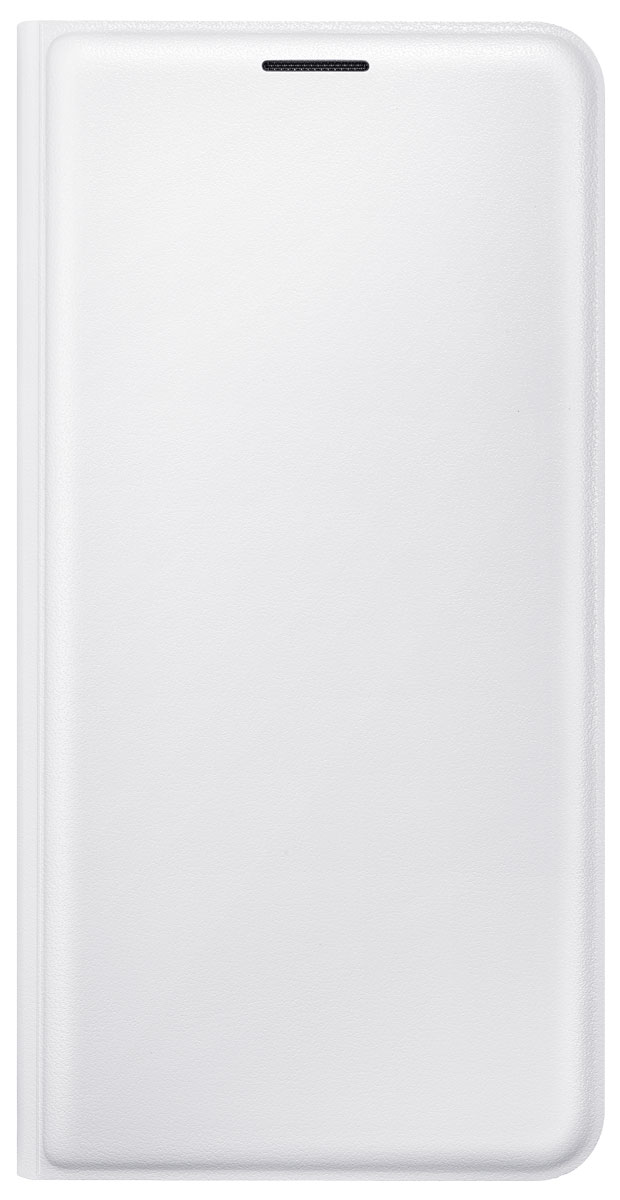 Samsung EF-WJ510P Flip Wallet чехол для Galaxy J5 (2016), WhiteEF-WJ510PWEGRUЧехол Samsung Flip Wallet совмещает в себе сразу несколько функций. Он защищает смартфон Samsung Galaxy J5 (2016) от падений и ударов и играет роль бумажника. Во внутреннем отделении чехла можно хранить визитку или кредитную карту. Чехол обеспечивает безопасность не только задней крышке, но и экрану. Мягкая поверхность из эко-кожи приятна на ощупь. На корпусе чехла предусмотрены функциональные вырезы под фотокамеру и зарядку.
