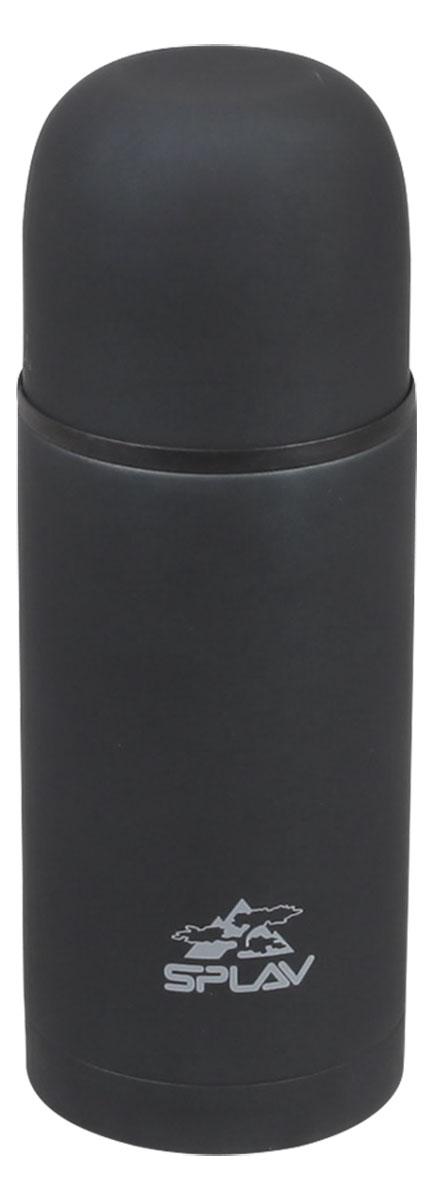 """Термос """"Сплав"""" изготовлен из высококачественной пищевой нержавеющей стали и пластика, что обеспечивает высокую надежность и долговечность. Термос удобен в использовании дома, на даче, в турпоходе и на рыбалке. Достаточно открутить крышку-чашку и налить ваш любимый напиток.В комплект входит дополнительная пластиковая чашка.Высота термоса (с учетом крышки): 21,5 см.Диаметр горлышка: 5 см.Диаметр дополнительной чашки: 7 см.Высота дополнительной чашки: 4,5 см."""
