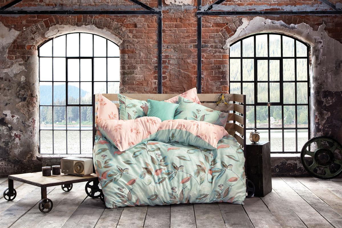 Комплект белья Issimo Home Idole, евро, наволочки 50x70. 4628 полотенце бамбуковое issimo home valencia цвет розовый 90 x 150 см