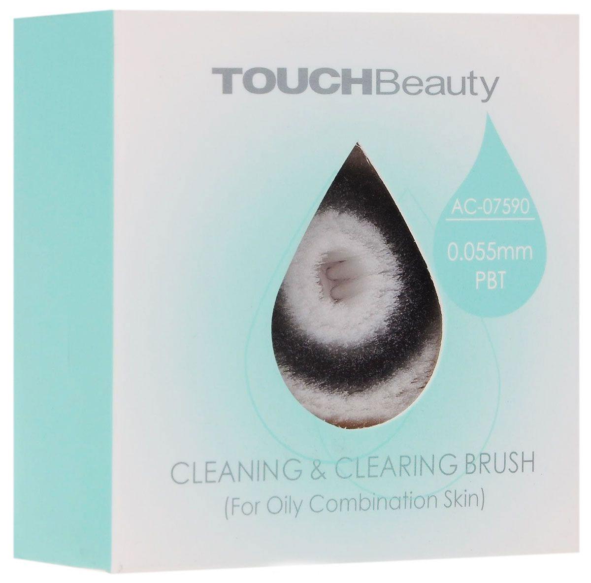Touchbeauty Запасная щетка к приборам для очищения кожи при умывании AC-07591AC-07591Супер-мягкая щеточка для деликатного очищения кожи при умывании Touchbeauty AC-07591 предназначена для использования с моющими средствами или со средствами для снятия макияжа. Подходит к приборам серий AS-0759.