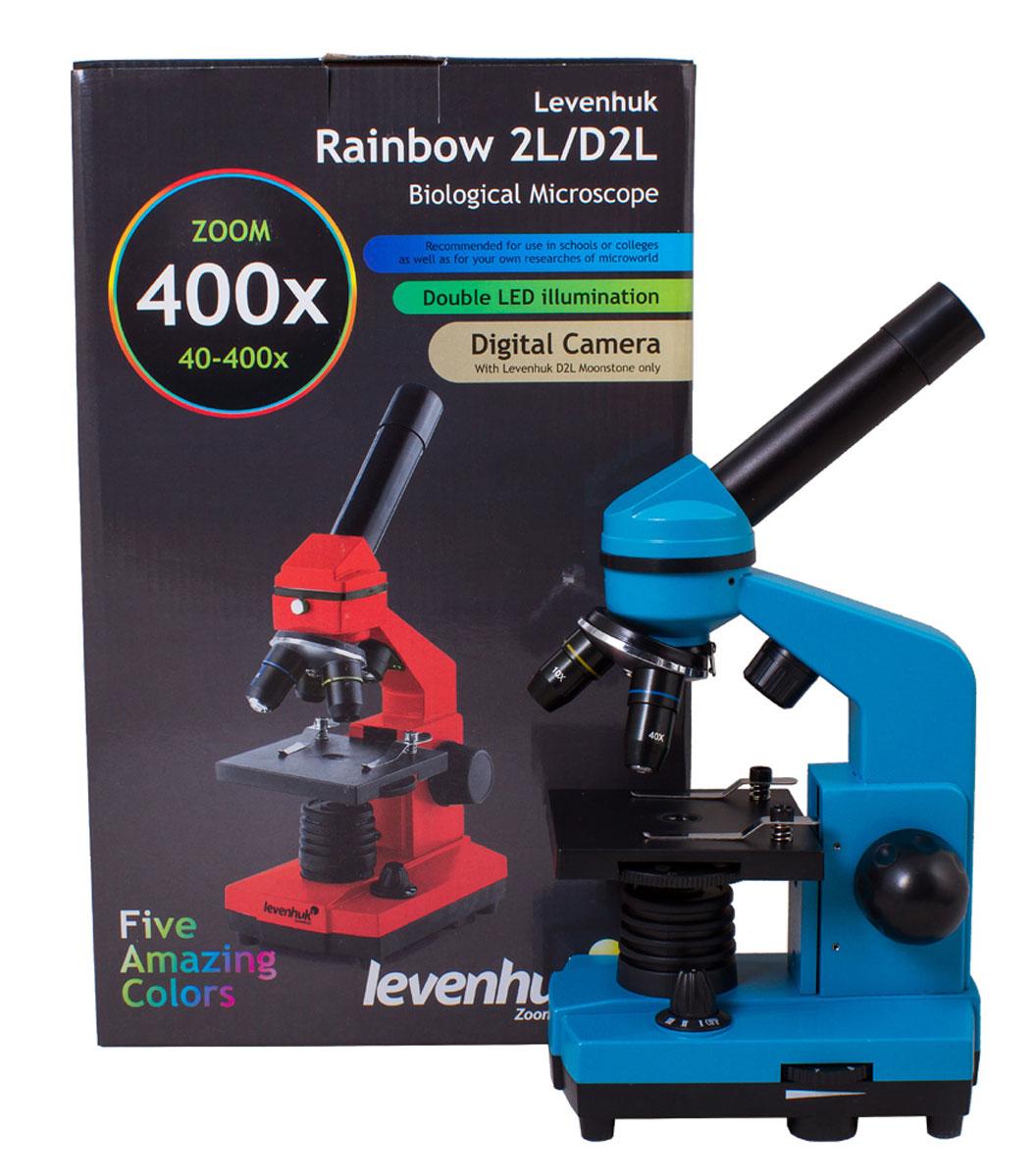 Levenhuk Rainbow 2L, Azureмикроскоп Levenhuk