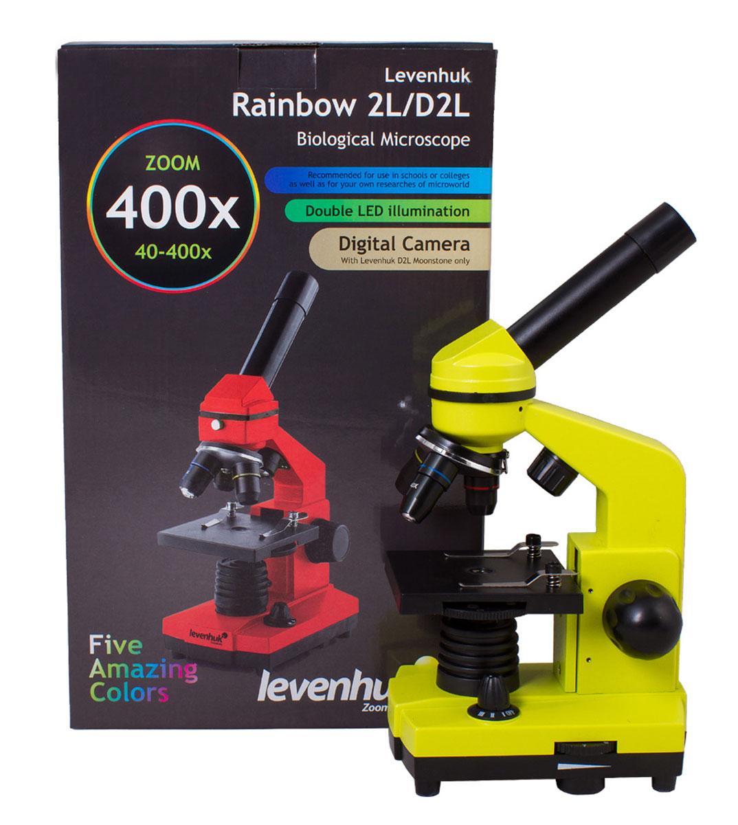 Levenhuk Rainbow 2L, Limeмикроскоп Levenhuk