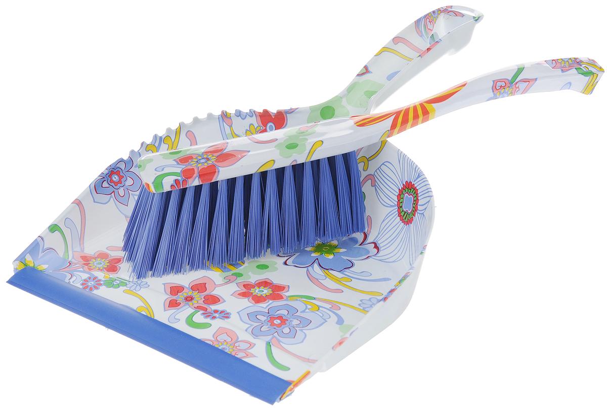 Набор для уборки Фэйт Флора, 2 предмета1.4.02.124Набор для уборки Фэйт Флора состоит из щетки-сметки и совка. Он станет незаменимым помощником в деле удаления пыли и мусора с различных поверхностей. Эластичный ворс на щетке, изготовленный из нейлона, не оставит от грязи и следа. В комплекте - вместительный совок углубленной формы, выполненный из прочного пластика. Удобная форма совка с бордюром, который удерживает собранный мусор, позволит эффективно и быстро совершить уборку в любом помещении. Ручка совка позволяет прикреплять его к рукоятке щетки. На рукоятках изделий имеются специальные отверстия для подвешивания. Длина щетки: 27 см. Длина ворса щетки: 5 см. Размер рабочей поверхности щетки: 13 х 4 см. Размер рабочей поверхности совка: 21 х 19 см.Размер совка (с учетом ручки): 32 х 21 х 9 см.