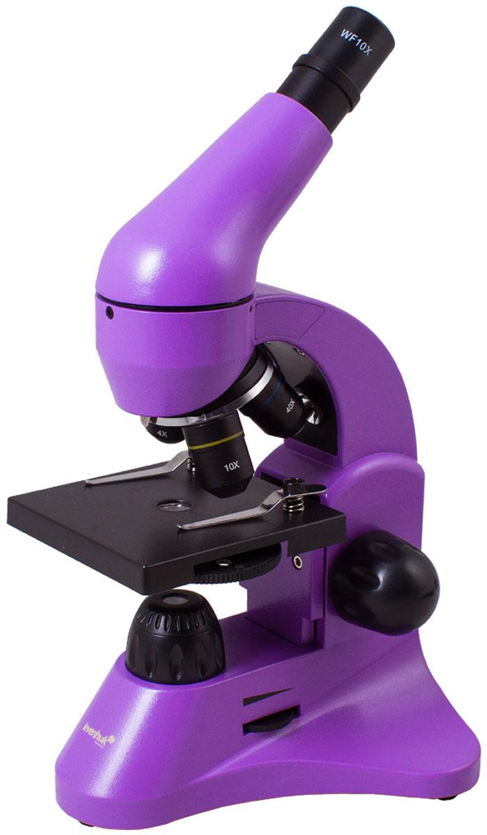 Levenhuk Rainbow 50L, Amethyst микроскоп - Микроскопы