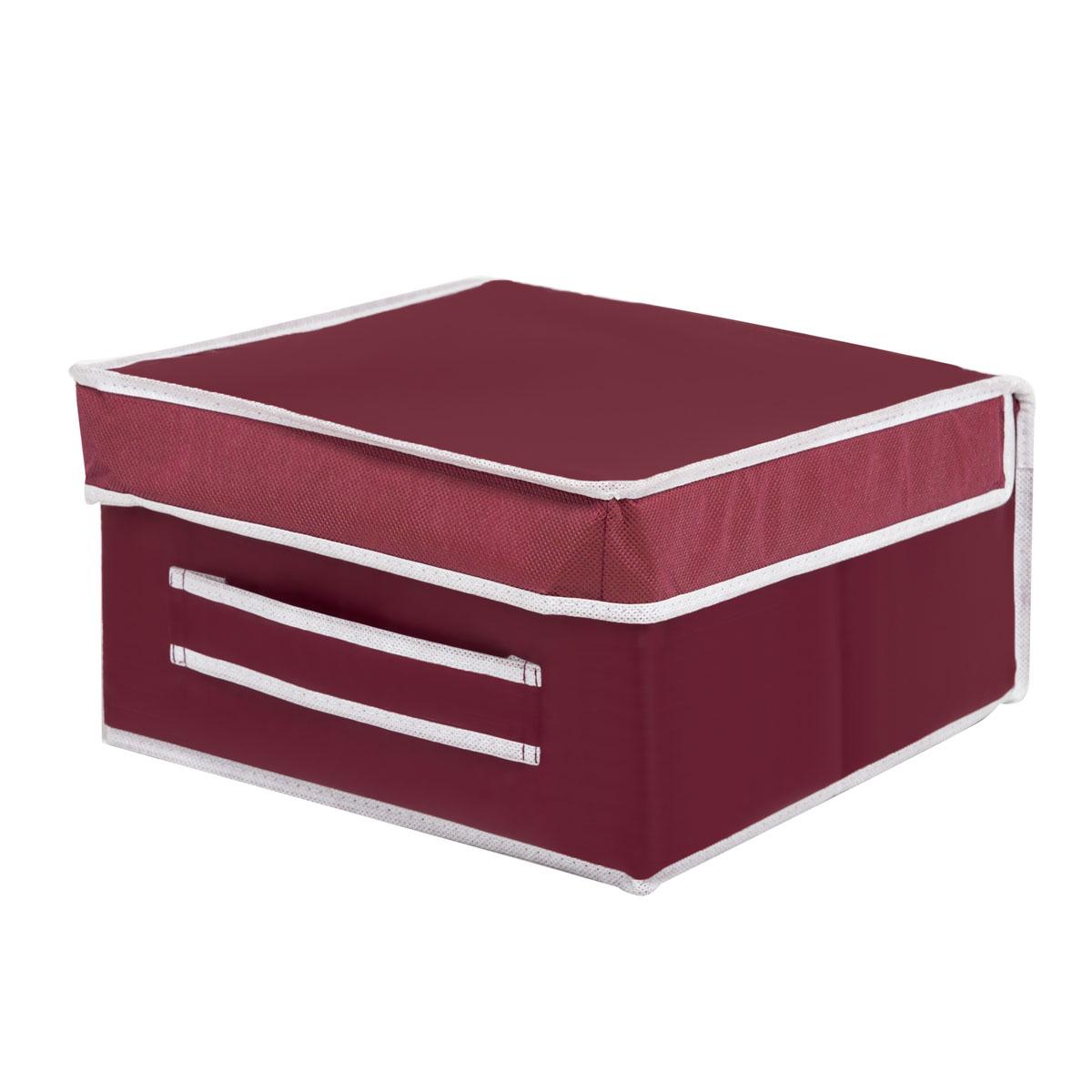 Коробка для хранения Homsu Red Rose, 30 х 30 х 16 смHOM-11Вместительная коробка для хранения Homsu Red Rose выполнена из плотного картона. Изделие обладает удобным размером и привлекательным дизайном, выполненным в приятной цветовой гамме. Внутри коробки можно хранить фотографии, ткани, принадлежности для хобби, памятные сувениры и многое другое. Крышка изделия удобно открывается и закрывается.Коробка для хранения Homsu Red Rose станет незаменимой помощницей в путешествиях.