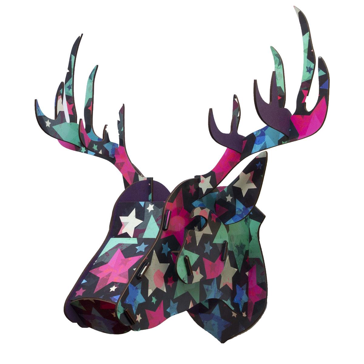 Украшение декоративное Homsu Голова оленя, 29,5 x 46 x 42,5 см украшение декоративное homsu голова оленя 29 5 x 46 x 42 5 см