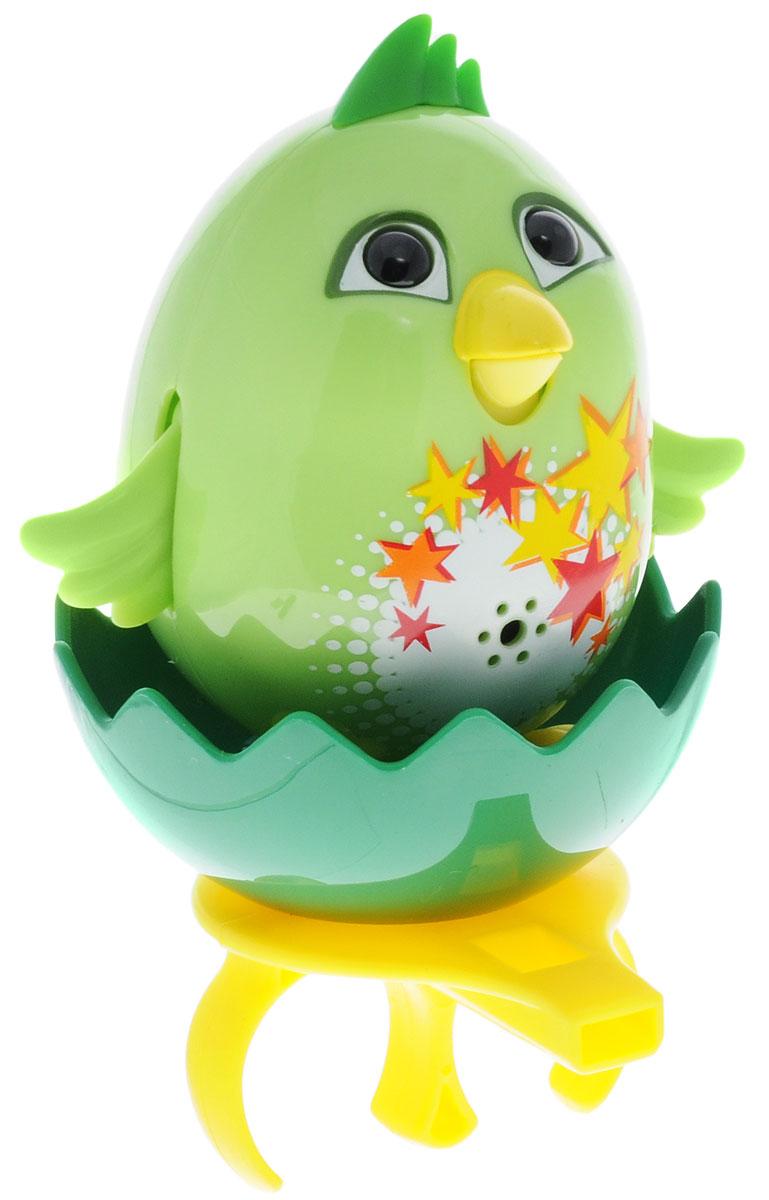 DigiFriends Интерактивная игрушка Цыпленок с кольцом цвет салатовый интерактивная игрушка digifriends аква крокодил в ассортименте