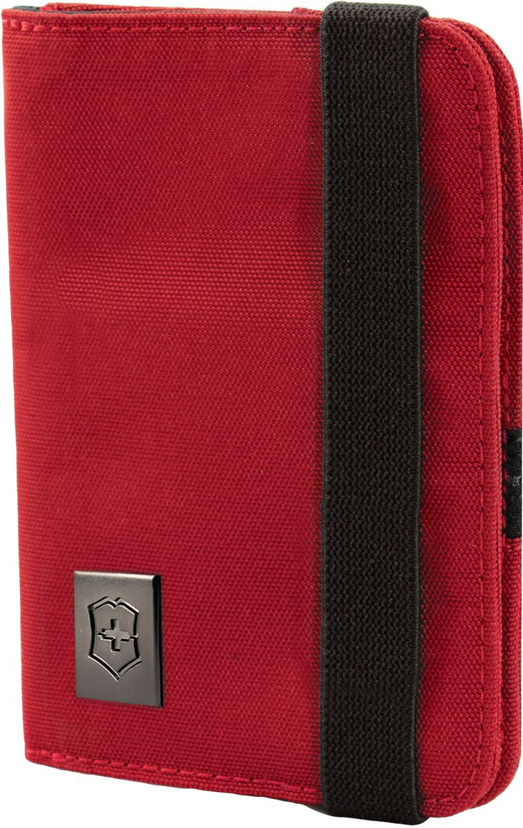 Обложка для паспорта Victorinox, цвет: красный. 3117220331172203Оригинальный швейцарский армейский нож «Swiss Army» был создан в 1897 году в небольшой деревушке Ибах в Швейцарии.С тех пор продукция,выпускаемая под маркой «Victorinox» с ее узнаваемым логотипом в виде креста на щите,по праву считается эталоном отличного качества,высокой функциональности,инновационных технологий и культового дизайна.Наша преданность принципам в течение последних 130 лет позволила нам создавать продукты,которые являются выдающимися не только по дизайну и качеству,но которые также являются надежными спутниками в больших и маленьких жизненных приключениях.Сегодня мы с гордостью представляем линейку сумок,чемоданов и дорожных аксессуаров,которые наилучшим образом воплощают в себе данные принципы,а также сочетают в себе черты нашего лучшего классического стиля.Коллекция Lifestyle Accessories 4.0 включает в себя широкий ассортимент решений для путешествий и повседневной жизни.Независимо от пункта назначения данные высоко-практичные аксессуары станут важнейшей составляющей поездки.Использую широку гамму наших повседневных сумок,вы можете простопередвигаться по городу либо ездить на экскурсии.Путешествуйте хорошопо дготовленнными,храня ваш паспорт,бтлеты и документы в удобно расположенном держателе для документов,оснащенном RFID защитой для безопасности вашей персональной информации.Путешествуйте хорошо организованными и максимально используйте ваше пространство для хранения благодаря нашим удобным сумкам и несессерам.Позвольте коллекции Lifestyle Accessories 4.0 сделать каждый миг вашего путешествия легче.Прототип модели прошел целых 30 основательных и строгих испытаний,в ходе которых проводилась симуляция самых экстремальных сценариев и условий внешней среды,возможных в реальной жизни.Жесткий режим проводимых тестов гарантирует точность,прочность и износоустойчивость,т.е. все признаки высокого качества и эксплуатационных характеристик,которые покупатель ожидает от продукции «Victorinox».Дале