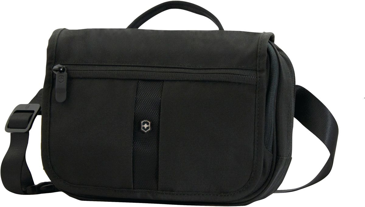 Сумка наплечная Victorinox Commuter Pack, цвет: черный. 31174501