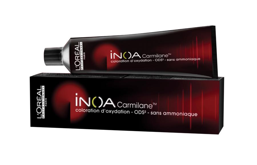 L'Oreal Professionnel Краска для волос Inoa ODS2 Carmilane, оттенок 6.66 Темный блондин фиолетовый интенсивный, 60 мл