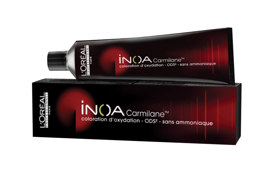 L'Oreal Professionnel Краска для волос Inoa ODS2 Carmilane, оттенок 5.62 Светлый шатен красный перламутровый, 60 мл