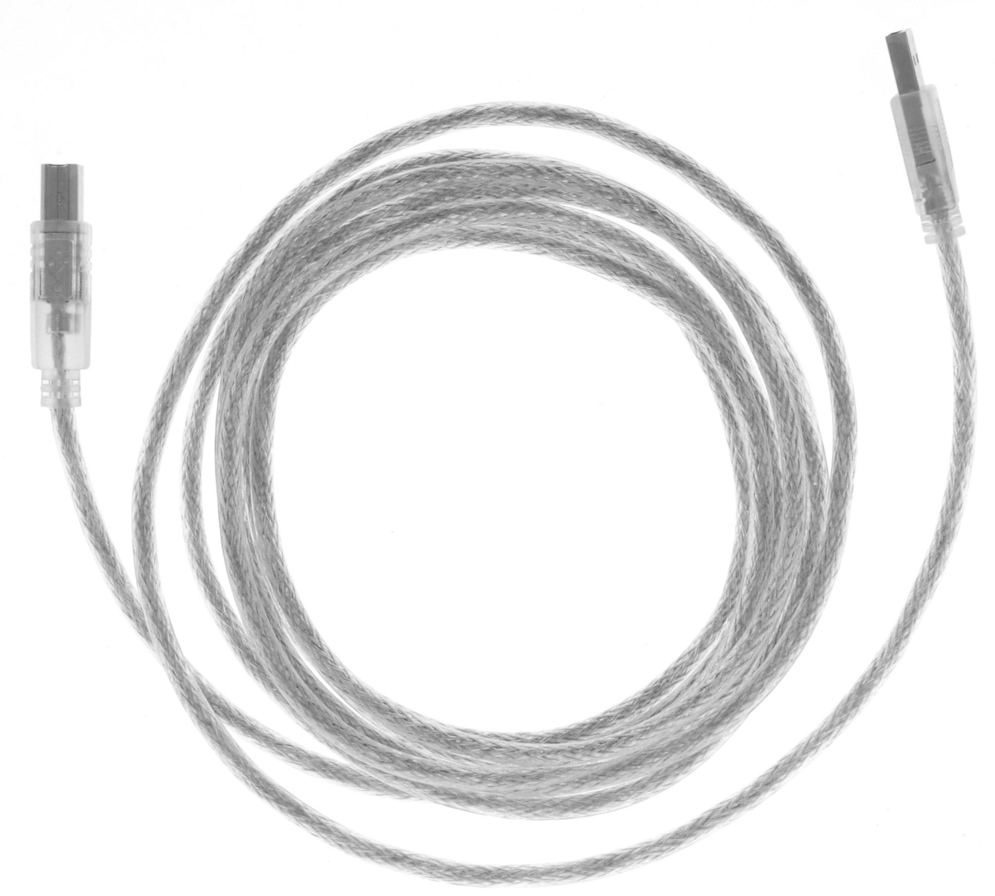Greenconnect Premium GCR-UPC2M-BD2S, Clear кабель USB 3.0 мGCR-UPC2M-BD2S-3.0mКабель Greenconnect Premium GCR-UPC2M-BD2S используется для подключения к компьютеру различных устройств с разъемом USB тип B, например, принтер, камеры, сканер, МФУ. Надежно работает со всеми моделями HP. Экранирование кабеля позволит защитить сигнал при передаче от влияния внешних полей, способных создать помехи.Пропускная способность интерфейса: USB 2.0 до 480 Мбит/сТип оболочки: PVC (ПВХ)