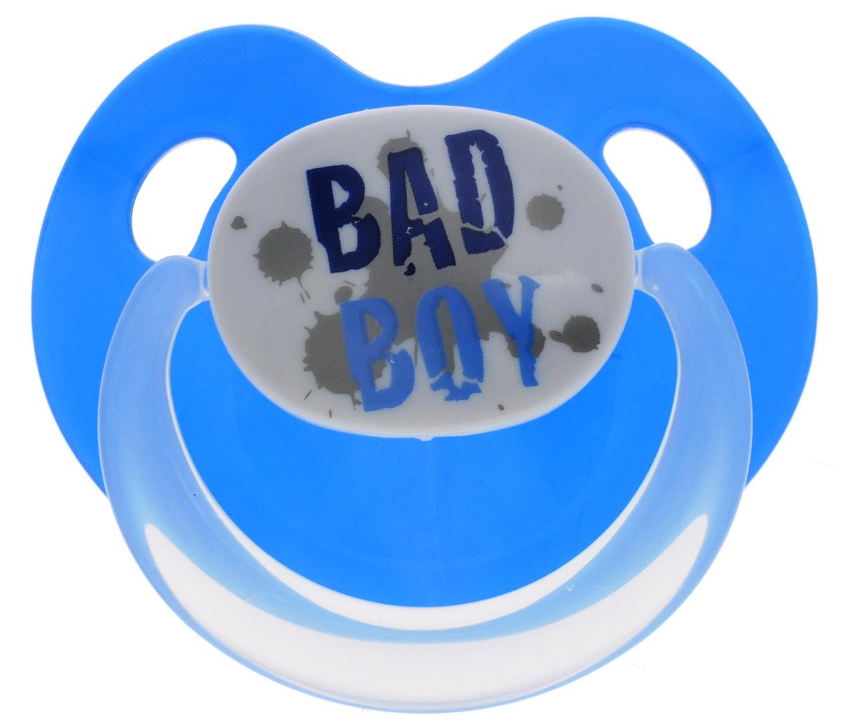 Bibi Пустышка силиконовая Bad Boy от 16 месяцев