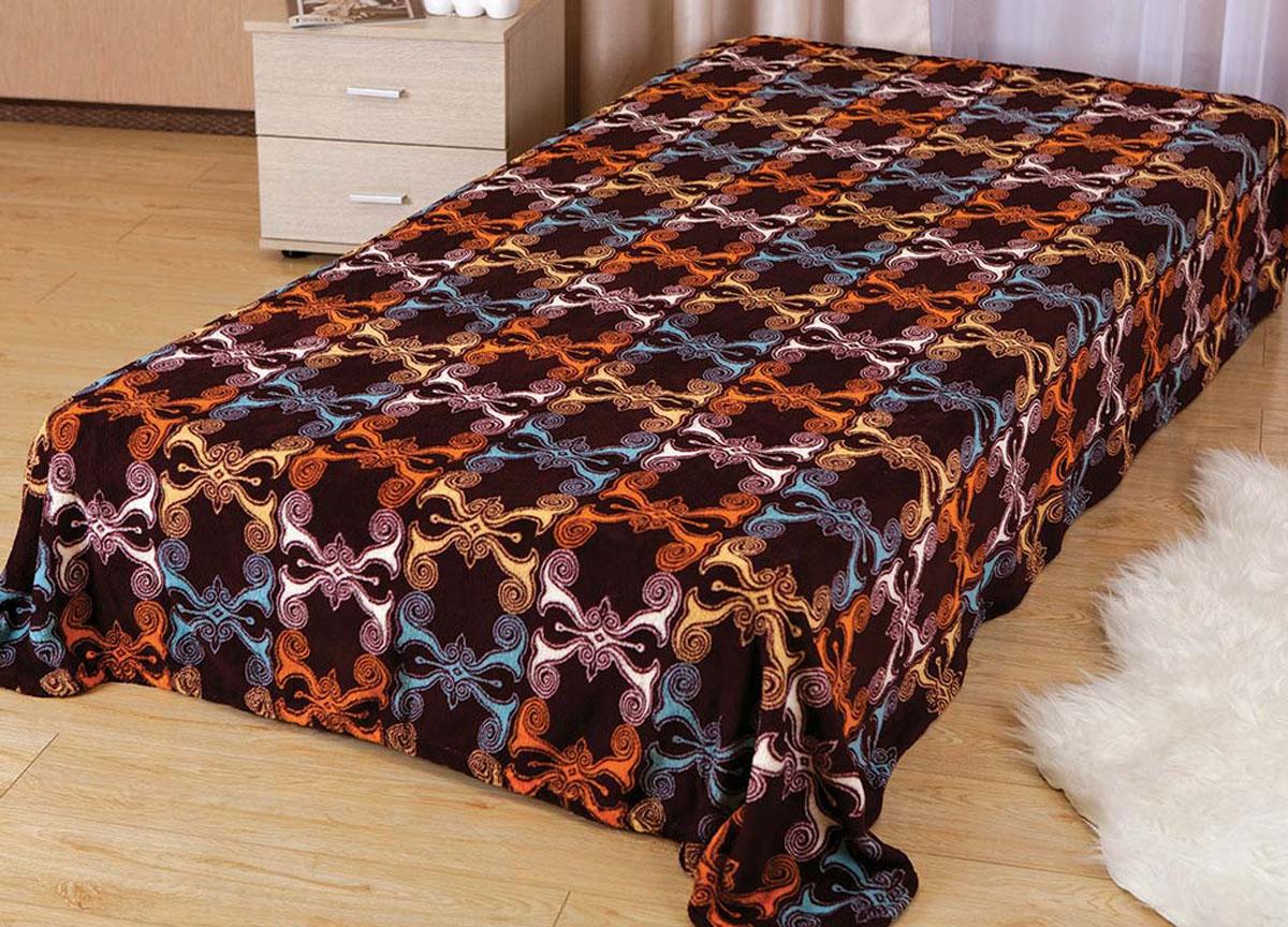 Плед ТД Текстиль Absolute, цвет: коричневый , 180 х 230 см. 5829058290Плед Absolute - это идеальное решение для вашего интерьера! Он порадует вас легкостью, нежностью и оригинальным дизайном! Плед выполнен из 100% полиэстера. Полиэстер считается одной из самых популярных тканей. Это материал синтетического происхождения из полиэфирных волокон. Внешне такая ткань схожа с шерстью, а по свойствам близка к хлопку. Изделия из полиэстера не мнутся и легко стираются. После стирки очень быстро высыхают.Плед - это такой подарок, который будет всегда актуален, особенно для ваших родных и близких, ведь вы дарите им частичку своего тепла!Плотность: 300 гр/м2.