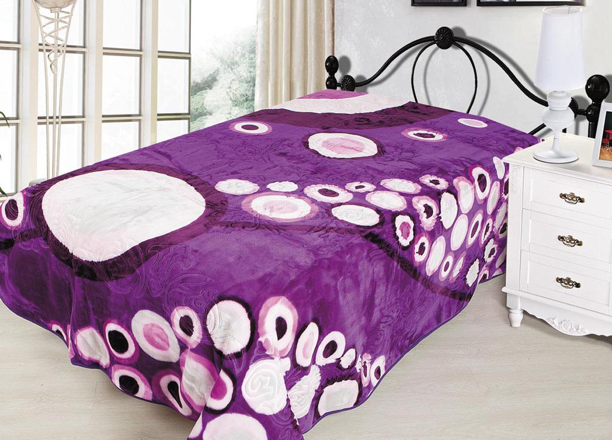 Плед ТД Текстиль Tamerlan, тисненый, цвет: фиолетовый, 200 х 240 см. 7046570465Плед Tamerlan - это идеальное решение для вашегоинтерьера! Он порадует вас легкостью, нежностью иоригинальным дизайном! Плед выполнен из 100% полиэстера с тисненым орнаментом. Полиэстер считается одной из самых популярных тканей.Это материал синтетического происхождения из полиэфирныхволокон. Внешне такая ткань схожа с шерстью, а по свойствамблизка к хлопку. Изделия из полиэстера не мнутся и легкостираются. После стирки очень быстро высыхают.Плед - это такой подарок, который будет всегда актуален,особенно для ваших родных и близких, ведь вы дарите имчастичку своего тепла!Плотность: 665 гр/м2.