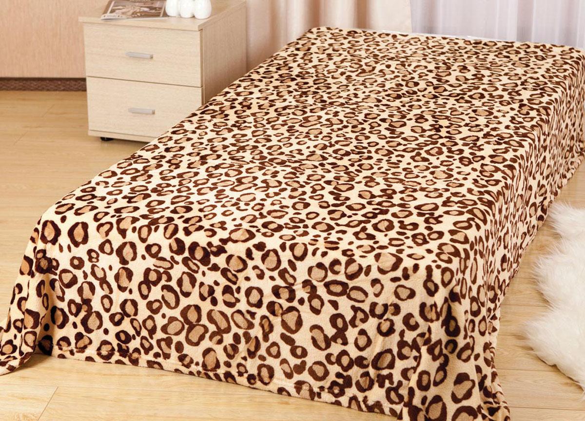 Плед ТД Текстиль Absolute, цвет: коричневый , 120 х 150 см. 8170781707Плед Absolute - это идеальное решение для вашего интерьера! Он порадует вас легкостью, нежностью и оригинальным дизайном! Плед выполнен из 100% полиэстера. Полиэстер считается одной из самых популярных тканей. Это материал синтетического происхождения из полиэфирных волокон. Внешне такая ткань схожа с шерстью, а по свойствам близка к хлопку. Изделия из полиэстера не мнутся и легко стираются. После стирки очень быстро высыхают.Плед - это такой подарок, который будет всегда актуален, особенно для ваших родных и близких, ведь вы дарите им частичку своего тепла!Плотность: 210 г/м2.