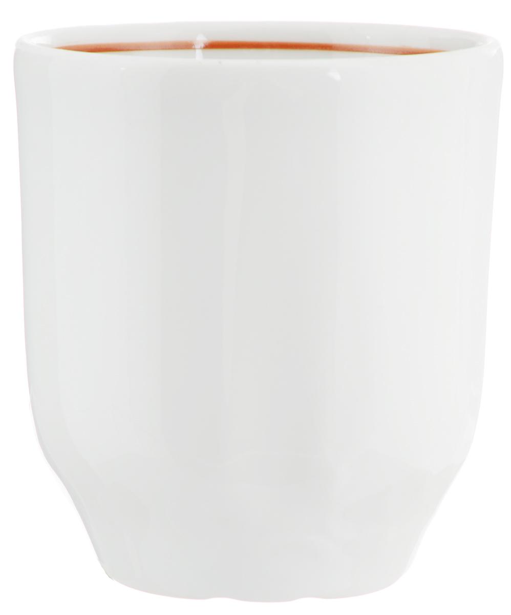 Стакан Белье, 220 мл. 982611982611Оригинальный стакан Белье изготовлен из высококачественного фарфора и оформлен рельефом с внешней стороны. Такой стакан отлично дополнит вашу коллекцию кухонной утвари и порадует вас ярким необычным дизайном и практичностью. Диаметр стакана (по верхнему краю): 7,5 см. Высота: 8,2 см.