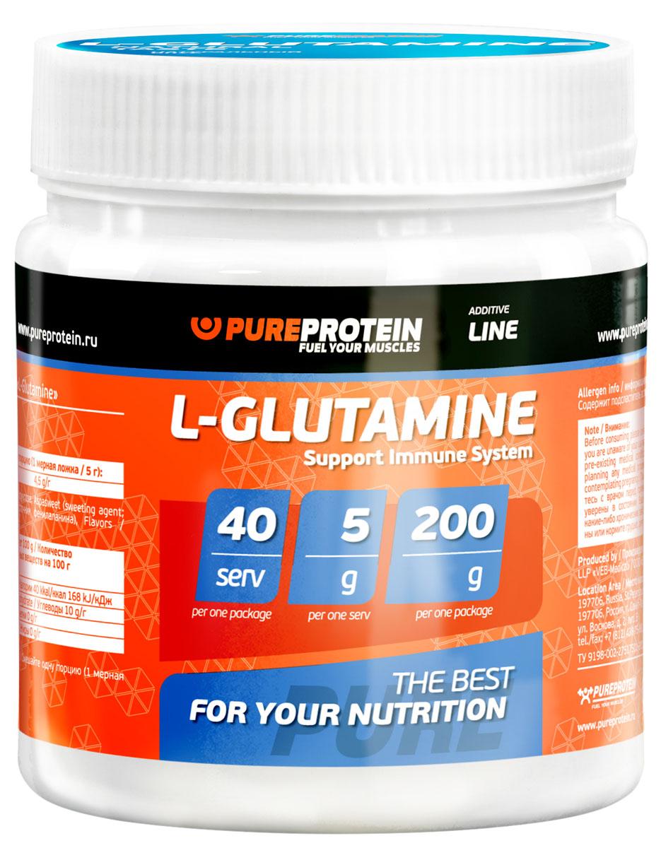 Глютамин PureProtein