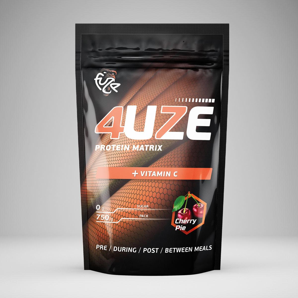 Протеин PureProtein Fuze, вишневый пирог , 750 г протеин fuze сreatine сливочная карамель 750 г