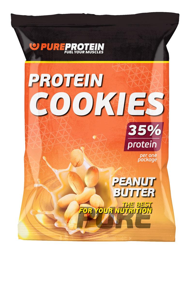 """""""Protein Cookies"""" - это абсолютно новая страница вашего представления о полезном питании!  Это - высокобелковое печенье с высоким содержанием клетчатки.  Ингредиенты: Концентрат сывороточного белка, пшеничный белок, смесь насыщенных и ненасыщенных жиров, фруктоза, арахис дробленый, разрыхлитель теста, ароматизаторы, сорбат калия (консервант), бензонат натрия (консервант), сахарин (подсластитель).  Товар сертифицирован.    Как повысить эффективность тренировок с помощью спортивного питания? Статья OZON Гид"""
