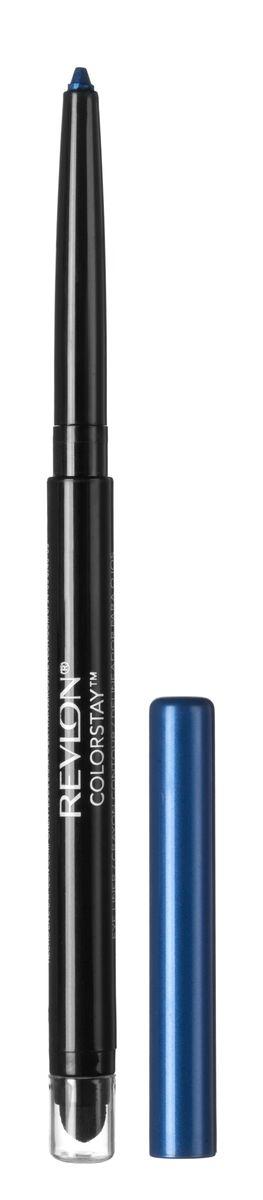 Revlon Карандаш для Глаз Colorstay Eyeliner Sapphire 205 5 г7210685005Colorstay Eyeliner - супер-устойчивый автоматический карандаш-лайнер для глаз. Легко наносится, придавая глазам выразительность. Автоматический карандаш. Технология ColorStay™ сохраняет глаза красиво очерченными на протяжении долгого времени. В корпусе карандаша встроена точилка.Нанести полностью на подвижное веко, на внутреннюю поверхность века или просто на линию роста ресниц по верхнему и/или нижнему веку