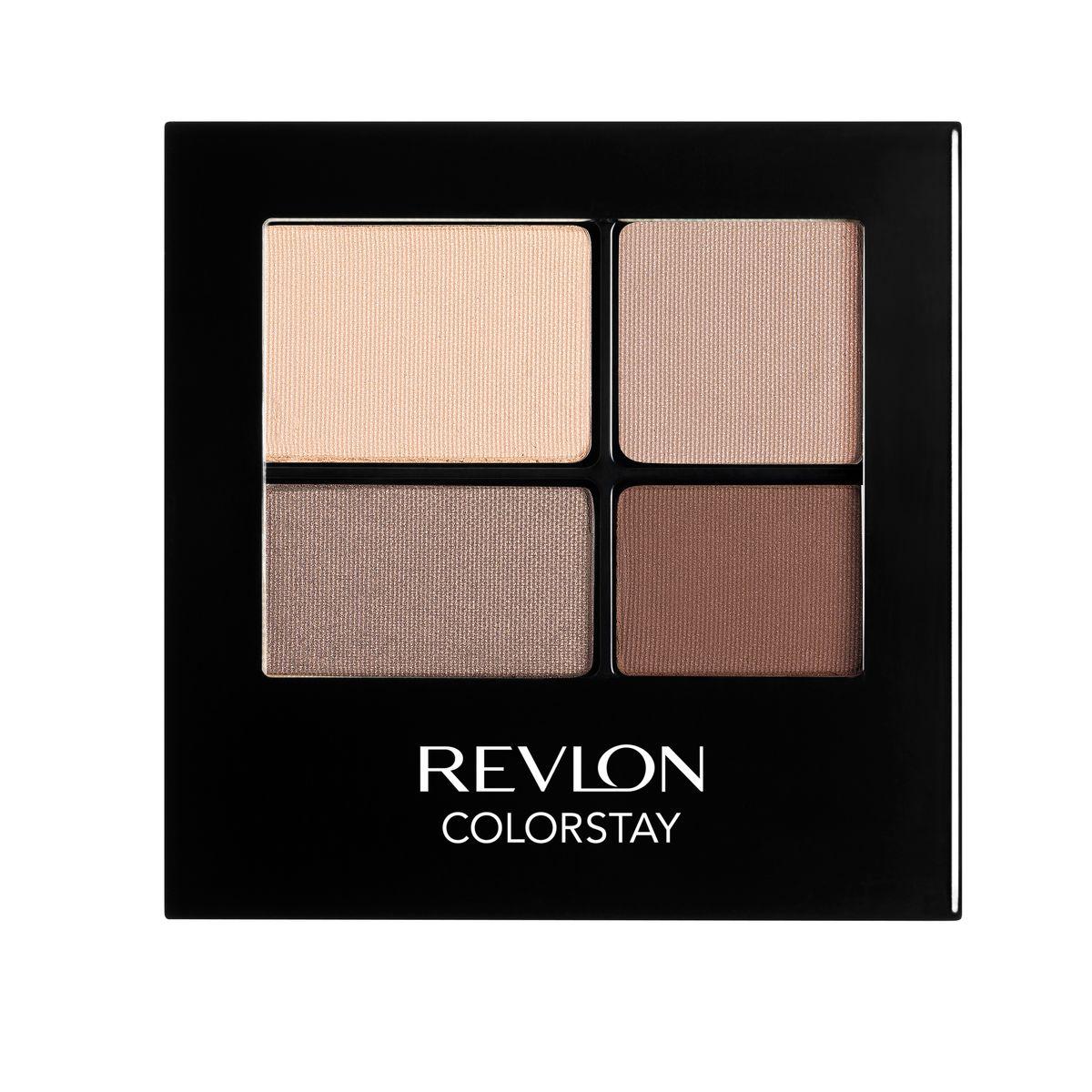 Revlon Тени для Век Четырехцветные Colorstay Eye16 Hour Eye Shadow Quad Addictive 500 42 г7210767001Colorstay 16 Hour Sahdow - роскошные тени для век с шелковистой текстурой и невероятно стойкой формулой. Теперь ваш макияж сохранит свой безупречный вид не менее 16 часов! Все оттенки гармонично сочетаются друг с другом и легко смешиваются, позволяя создать бесконечное количество вариантов макияжа глаз: от нежных, естественных, едва заметных, до ярких, выразительных, драматических. На оборотной стороне продукта приведена схема нанесения.Аккуратно нанести на веки специальной кисточкой.