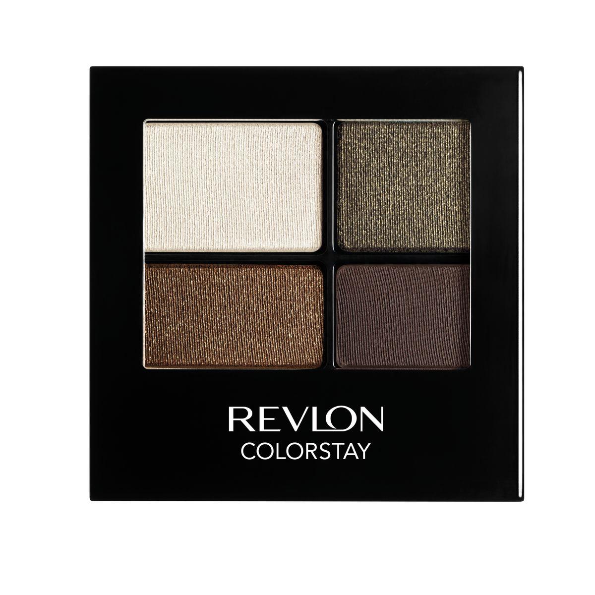 Revlon Тени для Век Четырехцветные Colorstay Eye16 Hour Eye Shadow Quad Adventurous 515 42 г7210767004Colorstay 16 Hour Sahdow - роскошные тени для век с шелковистой текстурой и невероятно стойкой формулой. Теперь ваш макияж сохранит свой безупречный вид не менее 16 часов! Все оттенки гармонично сочетаются друг с другом и легко смешиваются, позволяя создать бесконечное количество вариантов макияжа глаз: от нежных, естественных, едва заметных, до ярких, выразительных, драматических. На оборотной стороне продукта приведена схема нанесения.Аккуратно нанести на веки специальной кисточкой.