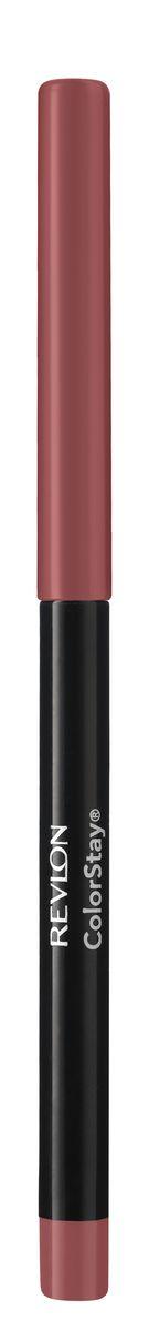 Revlon Карандаш для Губ Colorstay Lip Liner Blush 24 5 г7212706024Colorstay Eyeliner - супер-устойчивый автоматический карандаш-лайнер для глаз. Легко наносится, придавая глазам выразительность. Автоматический карандаш. Технология ColorStay™ сохраняет глаза красиво очерченными на протяжении долгого времени. В корпусе карандаша встроена точилка.Наносить на контур губ или растушевывать по всей поверхности губ
