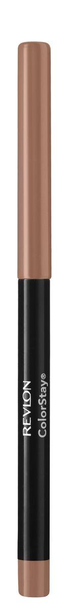 Revlon Карандаш для Губ Colorstay Lip Liner Natural 26 5 г29101385033Контурный карандаш для губ ColorStay™ создан на основе уникальной технологии SoftFlex™, которая предупреждает растекание или смазывание губной помады. Карандаш обладает мягкой текстурой и позволяет быстро прорисовать желаемый контур. В корпусе карандаша встроена точилка.Наносить на контур губ или растушевывать по всей поверхности губ