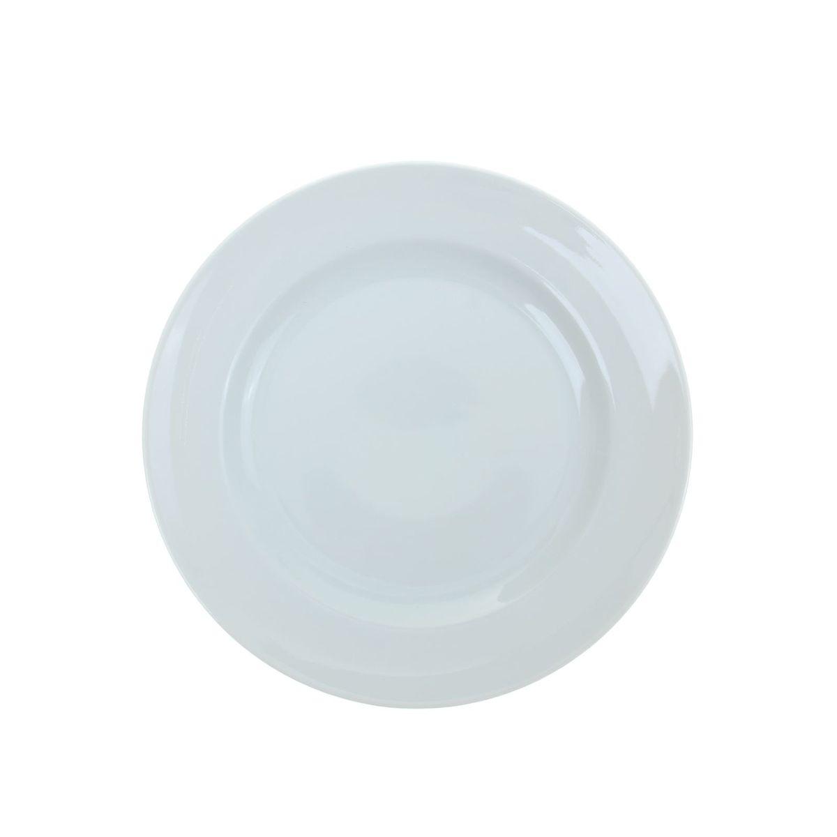 Тарелка мелкая Идиллия. Белье, диаметр 24 см1035427Мелкая тарелка Идиллия. Белье выполнена из высококачественного фарфора. Она прекрасно впишется в интерьер вашей кухни и станет достойным дополнением к кухонному инвентарю. Тарелка Идиллия. Белье подчеркнет прекрасный вкус хозяйки и станет отличным подарком. Диаметр тарелки: 24 см.