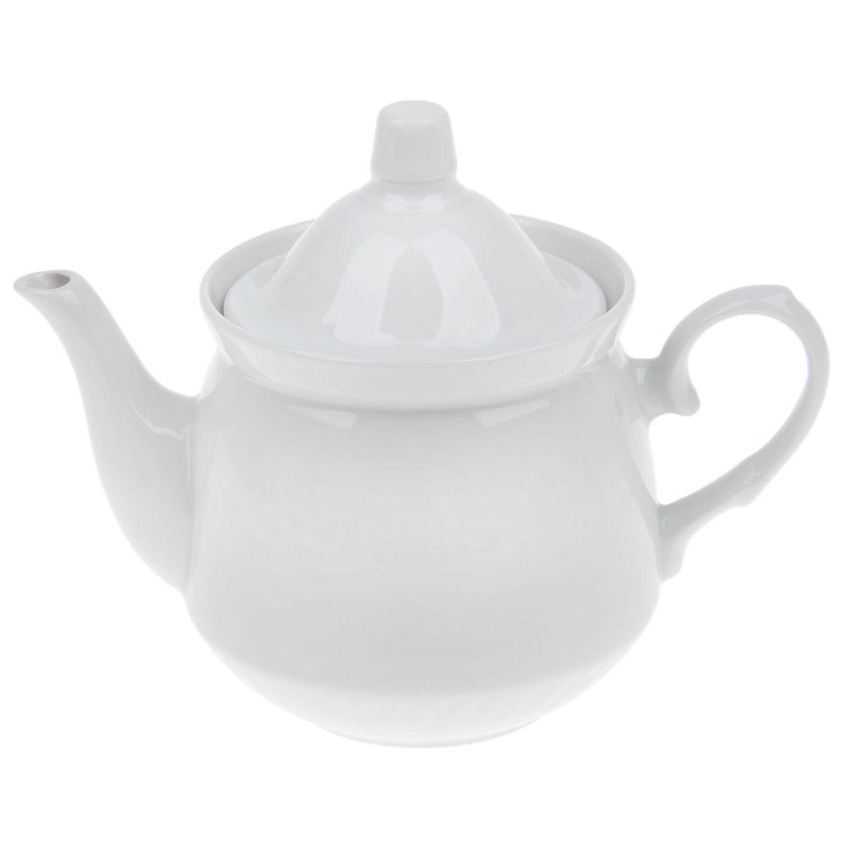 Чайник заварочный Кирмаш. Белье, 550 мл добрушский фарфоровый завод