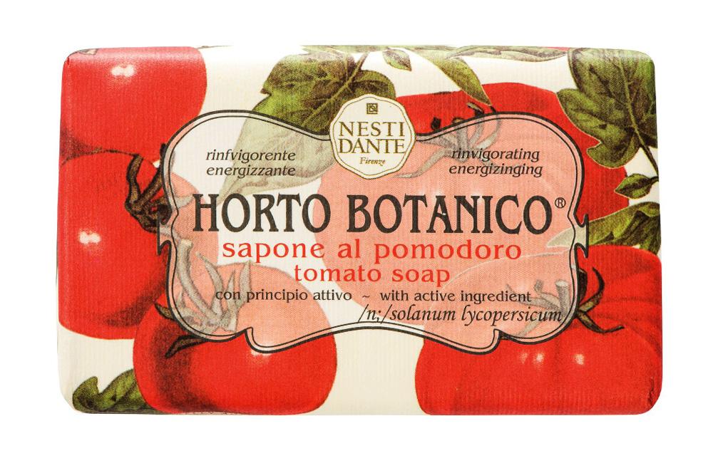 Мыло Nesti Dante Horto Botanico. Томат, 250 г1735206Великолепное растительное мыло премиум-класса Nesti Dante Horto Botanico. Томат изготовлено по старинным рецептам и по традиционной котловой технологии, в составе мыла только натуральные оливковое и пальмовое масло высочайшего качества, для ароматизации использованы органические эфирные масла.Экстракт томата успокаивает и балансирует, мыло прекрасно заботится о коже, хорошо мылится и очищает загрязнения. Благодаря содержанию натуральных компонентов, кожа становится нежной, увлажненной и упругой.Изысканная флорентийская бумага, в которую завернуто мыло, расписана акварелью, на каждом кусочке мыла выгравирована надпись With Love And Care (С любовю и заботой). Характеристики:Вес: 250 г. Производитель: Италия. Товар сертифицирован. Nesti Dante - одна из немногих итальянских мыловаренных фабрик, которая продолжает использовать в производстве только натуральные ингредиенты и кустарный способ производства. Тщательный выбор каждого ингредиента в отдельности позволяет использовать ценное сырье, такое как цельные нейтральные растительные и животные жиры и эти качественные материалы позволяют получать более обогащенное и более мягкое мыло благодаря присутствию фракции глицерида в жирах.