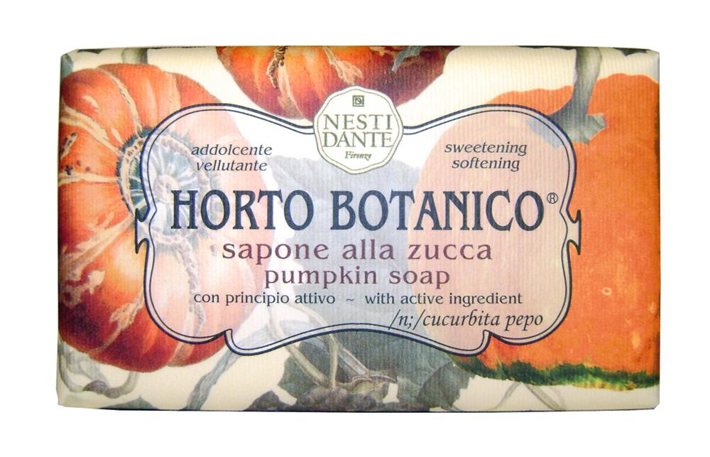 Мыло Nesti Dante Horto Botanico. Тыква, 250 г1736206Великолепное растительное мыло премиум-класса Nesti Dante Horto Botanico. Тыква изготовлено по старинным рецептам и по традиционной котловой технологии, в составе мыла только натуральные оливковое и пальмовое масло высочайшего качества, для ароматизации использованы органические эфирные масла.Экстракт тыквы смягчает и дарит нежность, мыло прекрасно заботится о коже, хорошо мылится и очищает загрязнения. Благодаря содержанию натуральных компонентов, кожа становится нежной, увлажненной и упругой.Изысканная флорентийская бумага, в которую завернуто мыло, расписана акварелью, на каждом кусочке мыла выгравирована надпись With Love And Care (С любовю и заботой). Характеристики:Вес: 250 г. Производитель: Италия. Товар сертифицирован. Nesti Dante - одна из немногих итальянских мыловаренных фабрик, которая продолжает использовать в производстве только натуральные ингредиенты и кустарный способ производства. Тщательный выбор каждого ингредиента в отдельности позволяет использовать ценное сырье, такое как цельные нейтральные растительные и животные жиры и эти качественные материалы позволяют получать более обогащенное и более мягкое мыло благодаря присутствию фракции глицерида в жирах.