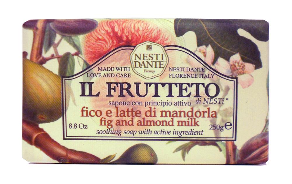 "Мыло Nesti Dante ""Il Frutteto. Инжир и миндальное молоко"", 250 г"