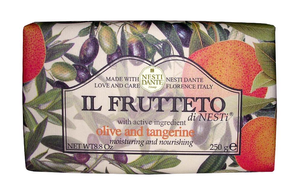"Мыло Nesti Dante ""Il Frutteto. Оливковое масло и мандарин"", 250 г"
