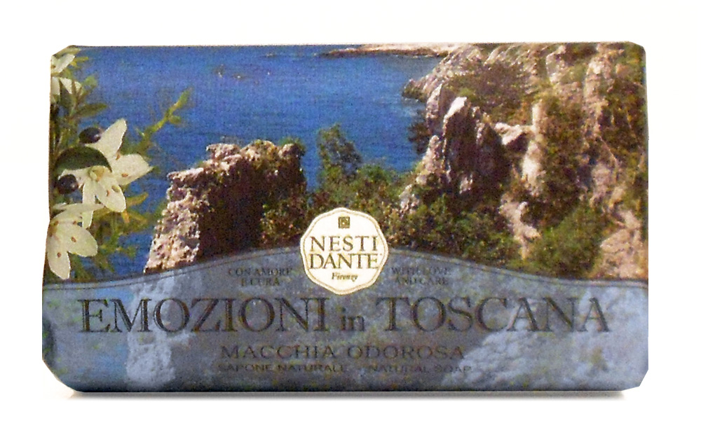 "Мыло Nesti Dante ""Emozioni In Toscana. Прикосновение Средиземноморья"", 250 г"