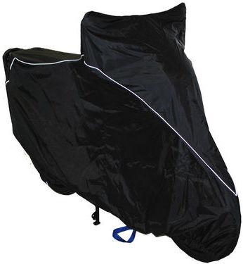 Чехол AG-brand, для мотоцикла Yamaha YBR125, цвет: черный запчасти для мотоциклов lifan lf125 9t