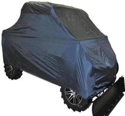 Чехол AG-brand, для мотовездехода UTV Yamaha Viking III, цвет: черныйAG-YAM-UTV-Viking-SCЧехол AG-brand, выполненный из влагоотталкивающей ткани, предназначен для уличного и гражного хранения трехместного мотовездехода UTV Yamaha Viking. Защищает от пыли, грязи, дождя и снега. Особенности: - свободная посадка на техники, фиксация при помощи резинки; - простота и удобство использования на мотовездеходе.Чтобы любое транспортное средство служило долгие годы, необходимо не только соблюдать все правила его эксплуатации, но и правильно его хранить. Негативное влияние на состояние мототехники оказывают прямые солнечные лучи, влага, пыль, которые не только могут вызвать коррозию внешних металлических поверхностей, но и вывести из строя внутренние механизмы транспортных средств. Необходимо создать условия для снижения воздействия этих негативных факторов. Именно для этого и предназначены чехлы.