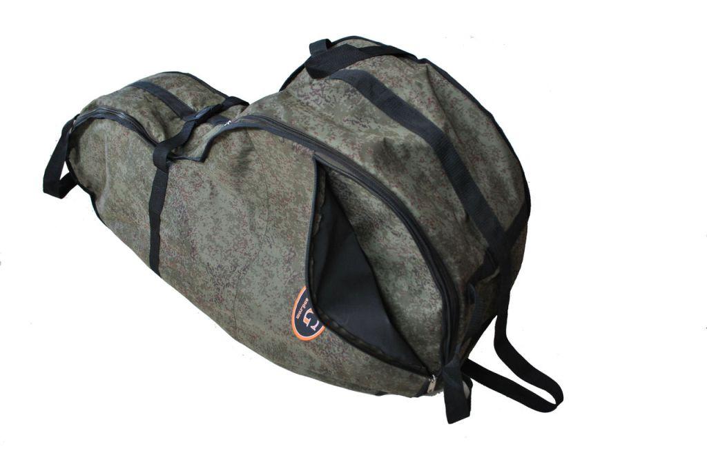 Сумка для лодочного мотора AG-brand 4 т, 6 л.с., цвет: черныйAG-Uni-OM-N4T6-4T/6hp-600Переноска и хранение лодочного мотора. Сумка изготовлена из ткани плотностью 600den с влагоотталкивающей пропиткой.С внутренней стороны сумка выполнена из ткани с пвх покрытием и имеет антиударные вставки толщиной 8мм из вспененного наполнителя.Сумка на прочной двухзамковой молнии и имеет карман для документации и мелких деталей. Есть ручки для переноски мотора в руках и на плече. Также на сумке предусмотренныдополнительные ручки и мотор могут нести одновременно два человека.