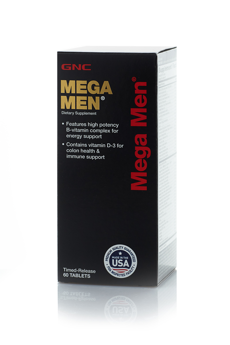 "Витамины GNC ""Mega Men"", 60 таблеток"
