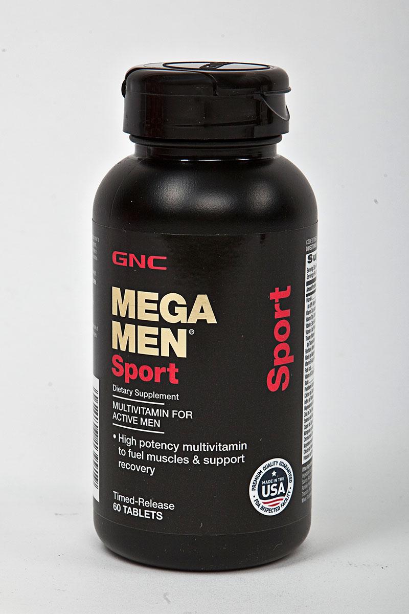 Витамины GNC  Mega Men Sport , 60 таблеток - Витамины, минералы, комплексы