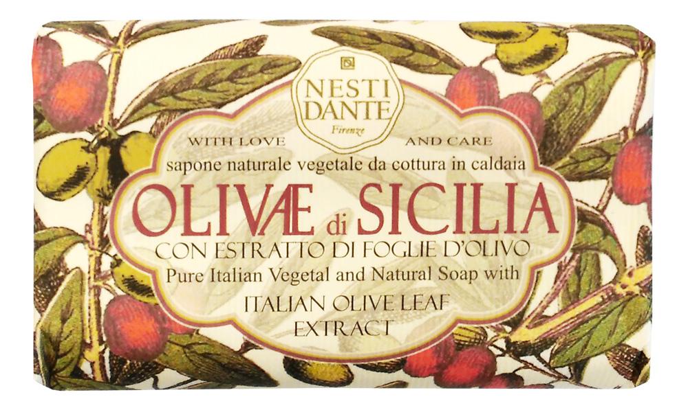 Nesti Dante Мыло Olivae di Sicilia - Сицилийская олива 150г1328106Оливковое дерево – это символ жизни, мудрости, процветания, мира и долголетия.В знак признания к этому замечательному дереву Nesti Dante создал три вида мыла, вдохновленные сортами оливок из разных регионов Италии Мыло Сицилийская олива