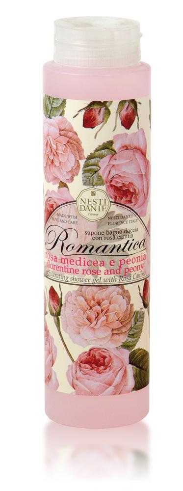 Nesti Dante Гель для душа Romantica. Флорентийская роза и пион, 300 мл5045106Гель для душа Romantica. Флорентийская роза и пион создан для ухода за кожей в душе.Дуэт Флорентиской Розы и Пиона превращается в чувственную цветочную композицию. Натуральные цветочные экстракты - формула здоровой красоты.Уникальность этого геля для душа состоит в том, что технология производства аналогична технологии производства твердого мыла, что является отличительной чертой от гелей других производителей.Товар сертифицирован.