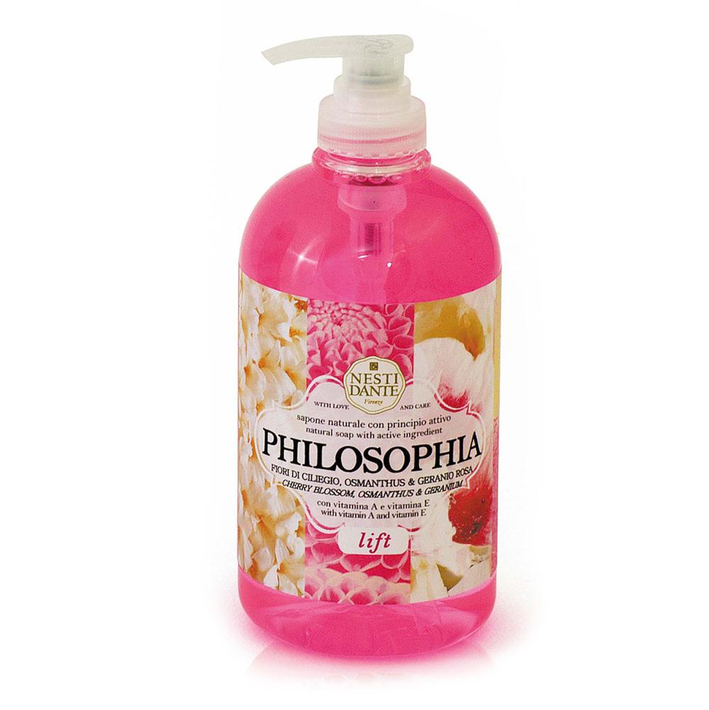 "Nesti Dante Жидкое мыло для рук и лица ""Philosophia. Лифтинг"", 500 мл"