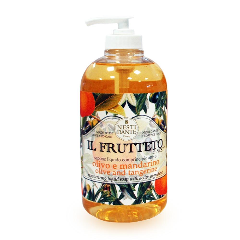 "Nesti Dante Жидккое мыло для рук ""Il Frutteto. Оливковое масло и мандарин"", 500 мл"