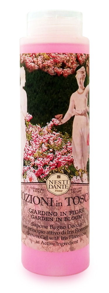 Гель для душа и ванны Nesti Dante Emozioni In Toscana. Цветущий сад, 300 мл5031112Великолепный растительный гель для душа и ванны премиум-класса Nesti Dante Emozioni In Toscana. Цветущий сад - аромат цветущего весеннего сада пробуждает фантазию и страсть, обладает детоксицирующими свойствами. Однажды познакомившись со столь разной пленяющей Тосканой, вы будете вновь и вновь возвращаться к воспоминаниям и грезам о ее пламенных лесах, лугах, маленьких городишках, скалистых побережьях, терракотовых деревушках и волнующих ароматах Тосканы Гель произведен без применения синтетических ПАВ (таких, как натрия лаурил сульфат). Технология его производства аналогична технологии производства твердого мыла и заключается в процессе омыления, а не в результате смешивания ингредиентов, которое используют другие компании, поэтому гель для душа и ванны Nesti Dante не содержит в своем составе щелочи, не сушит и не раздражает кожу, хорошо пенится. Характеристики:Объем: 300 мл. Производитель: Италия. Товар сертифицирован. Nesti Dante - одна из немногих итальянских мыловаренных фабрик, которая продолжает использовать в производстве только натуральные ингредиенты и кустарный способ производства. Тщательный выбор каждого ингредиента в отдельности позволяет использовать ценное сырье, такое как цельные нейтральные растительные и животные жиры и эти качественные материалы позволяют получать более обогащенное и более мягкое мыло благодаря присутствию фракции глицерида в жирах.