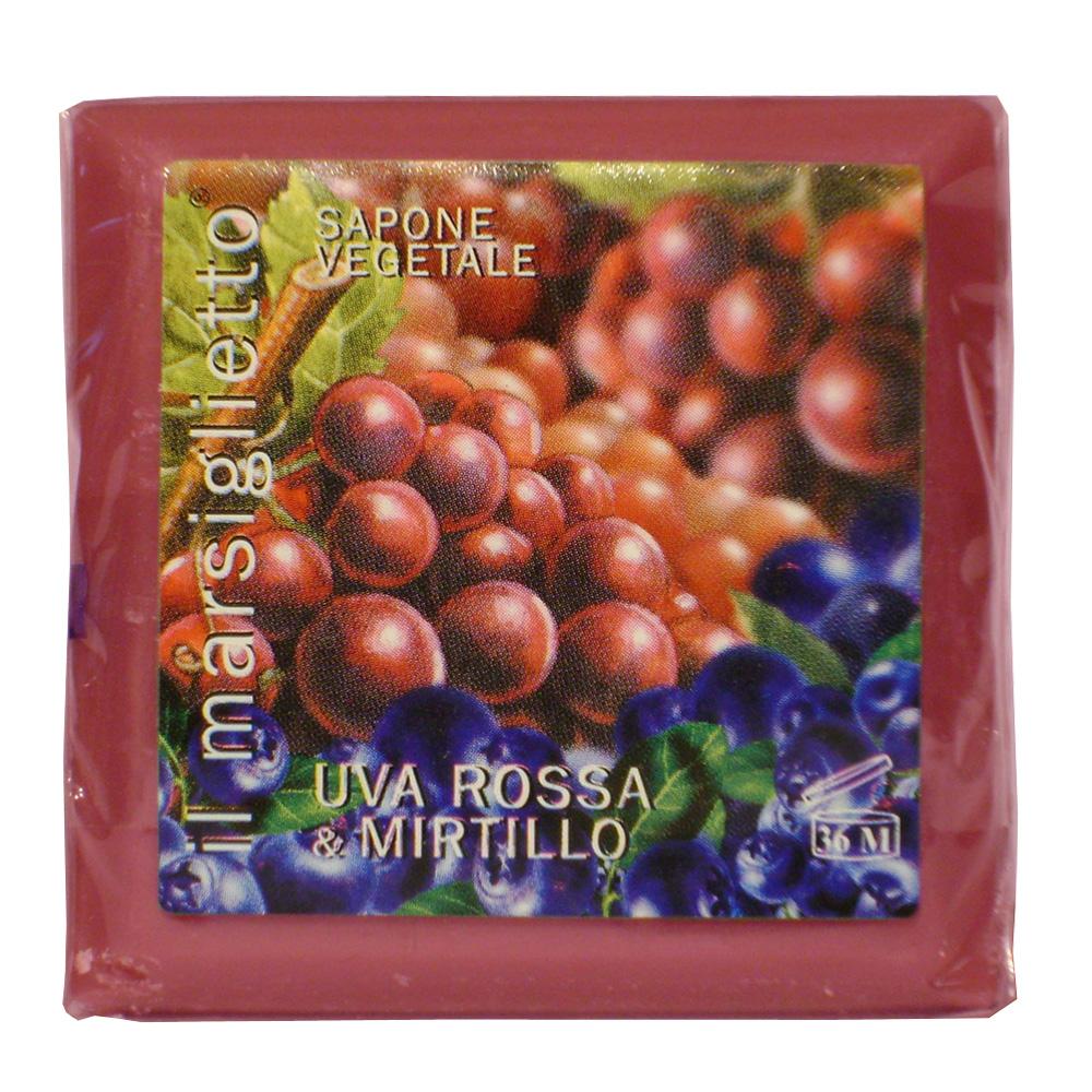 Мыло Nesti Dante Il Marsiglietto. Красный виноград и голубика, 100 г10044812Натуральное растительное мыло Nesti Dante Il Marsiglietto. Красный виноград и голубика изготовлено по старинным рецептам и по традиционной котловой технологии, в составе мыла только натуральные оливковое и пальмовое масло высочайшего качества, для ароматизации использованы органические эфирные масла. Ежедневный ритуал красоты, любви и заботы не только для тела, но и для души.Il Marsiglietto - линия классического мыла создана для традиционного ухода за кожей. Благодаря натуральному составу мыло Красный виноград и голубика сохраняет полезные и питательные свойства растительных экстрактов, эффективно увлажняя и питая кожу во время процедуры умывания. Вытяжки из ягод помогают коже восстановить силы, способствуя обновлению и улучшению внешнего вида. Коже вновь возвращается природное сияние и свежесть. Характеристики:Вес: 100 г. Производитель: Италия. Товар сертифицирован. Nesti Dante - одна из немногих итальянских мыловаренных фабрик, которая продолжает использовать в производстве только натуральные ингредиенты и кустарный способ производства. Тщательный выбор каждого ингредиента в отдельности позволяет использовать ценное сырье, такое как цельные нейтральные растительные и животные жиры и эти качественные материалы позволяют получать более обогащенное и более мягкое мыло благодаря присутствию фракции глицерида в жирах.